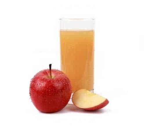 سیب قرمز آبگیری