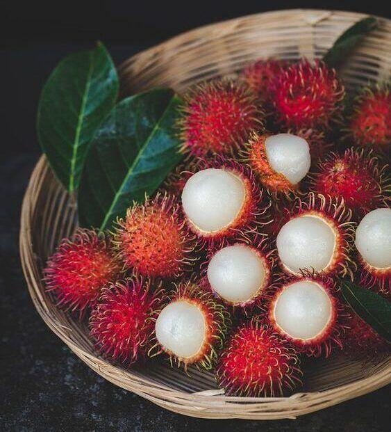 خرید میوه های استوایی: رامبوتان