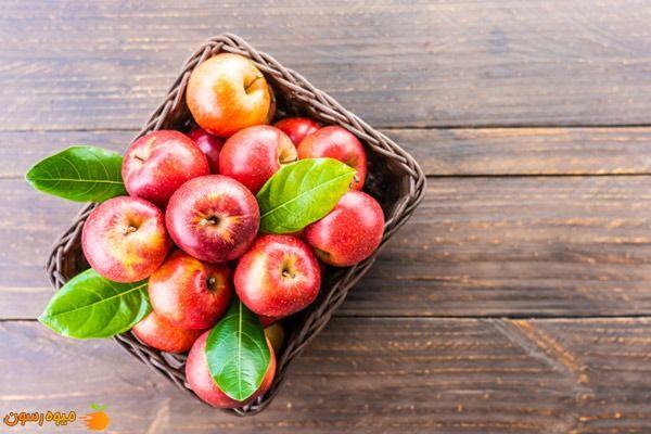 سیب های شیرین و آبدار
