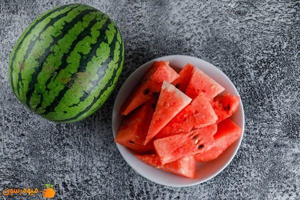 هندوانه میوه پرآب با قند طبیعی