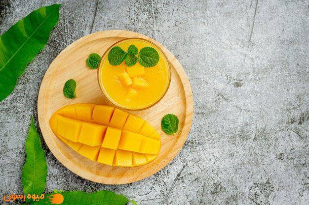انبه یکی از میوه های مفید برای زیبایی پوست