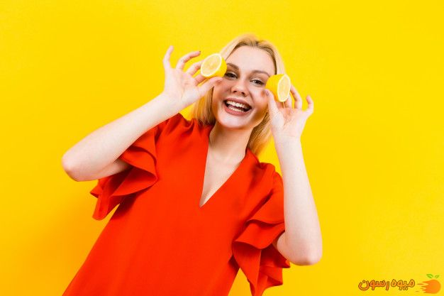 لیمو ترش روشن کننده طبیعی پوست