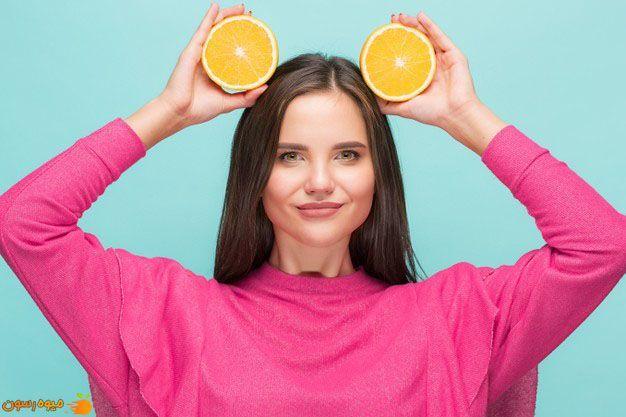 پرتقال یک ضد آفتاب و مرطوب کننده طبیعی است.