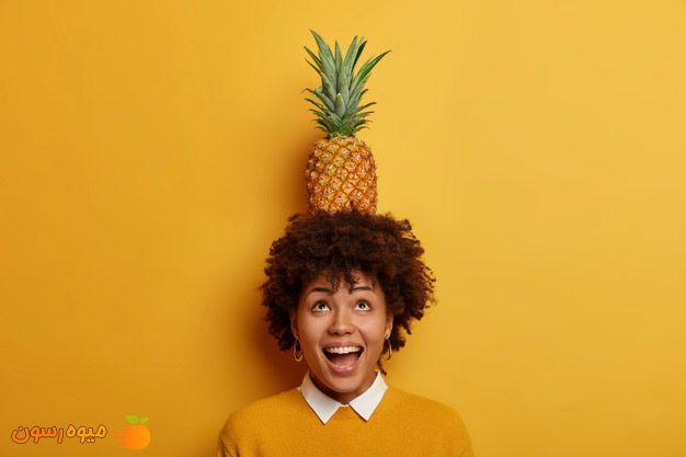 آناناس یکی از میوه های مفید برای زیبایی پوست