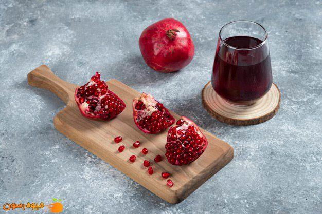 انار یکی از بهترین میوه ها برای فشار خون بالا