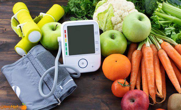 معرفی بهترین میوه ها برای فشار خون بالا (12 مورد)