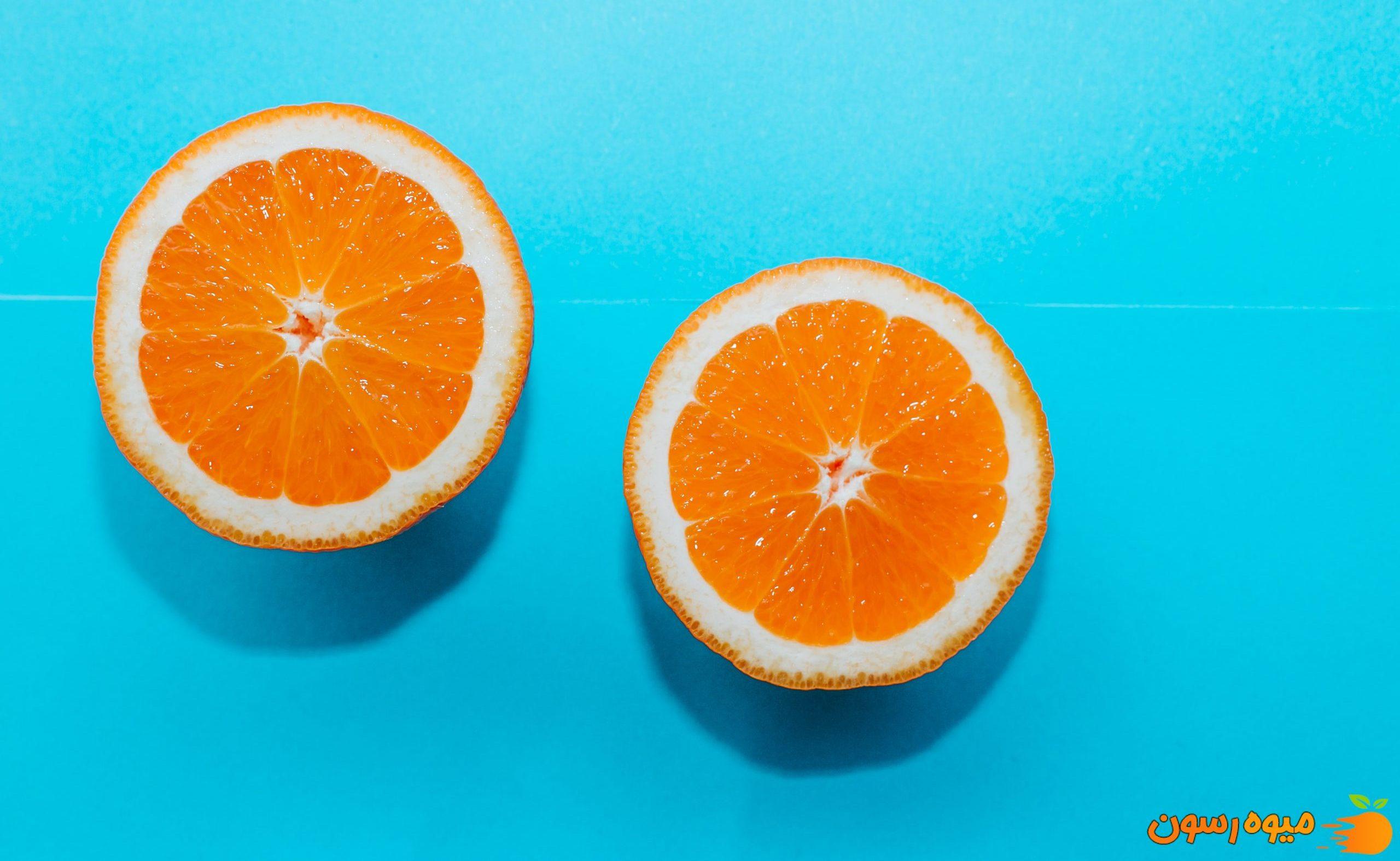 پرتقال از میوه های مفید برای کرونا
