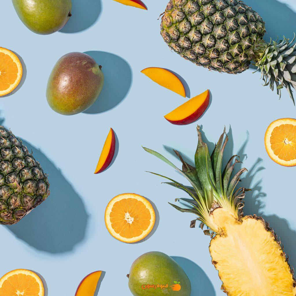 آناناس میوه مفید برای درمان کرونا